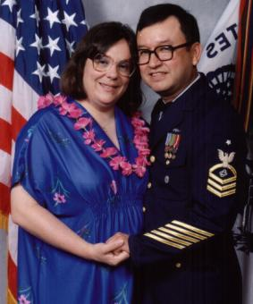 Jim and Linda USCG Ball 1993